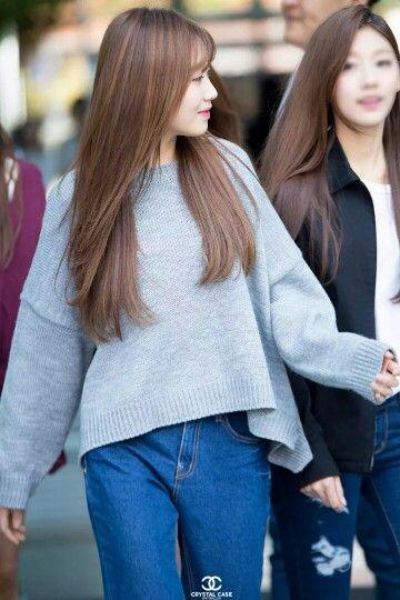 Lovelyz Sujeong Hair Pretty