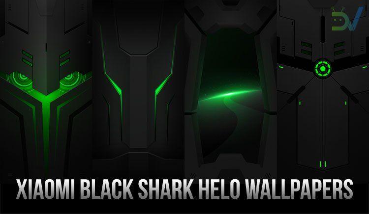 Download Xiaomi Black Shark Helo Wallpapers Ringtones Droidviews Black Wallpaper Iphone Xiaomi Smartphone Wallpaper Wallpaper black shark helo 2