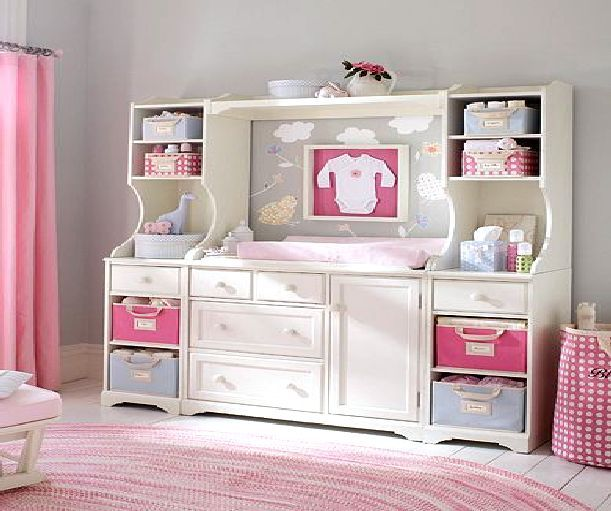 Nursery Storage Baby Room Design