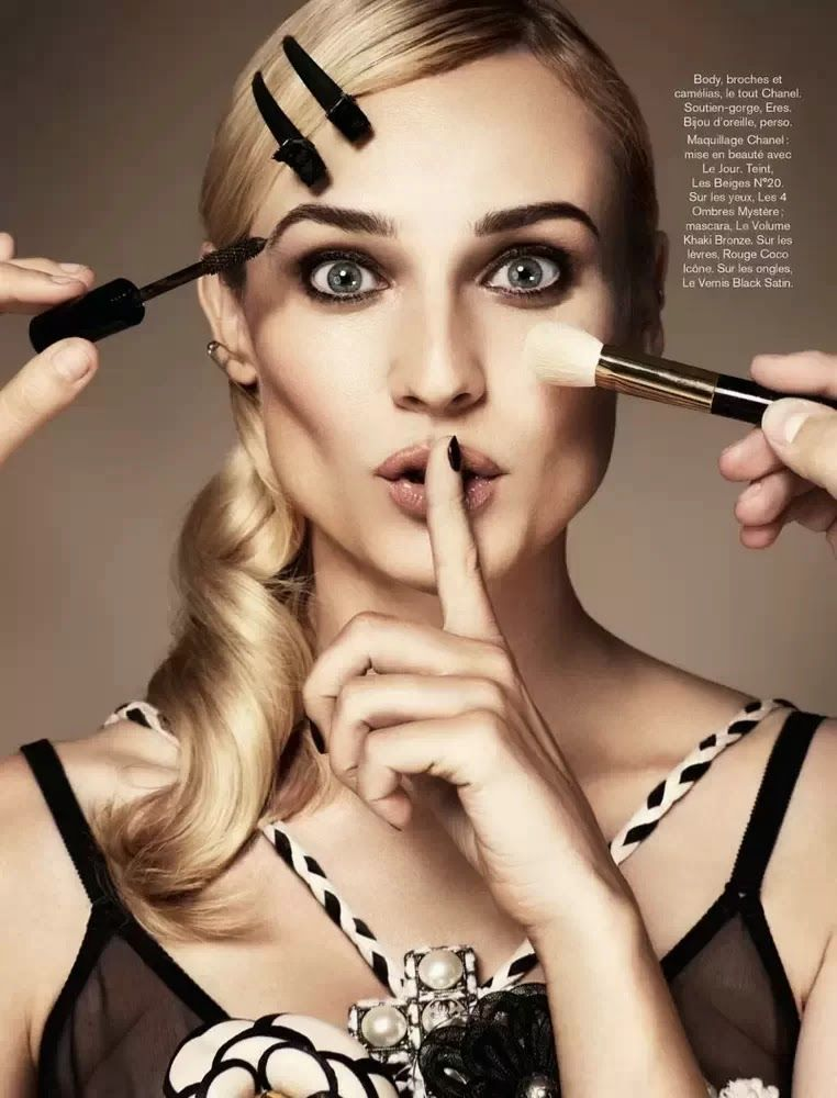 Diane Kruger Glamour Paris November 2013
