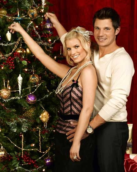Nick and Jessica christmas special | Jessica Simpson | Pinterest