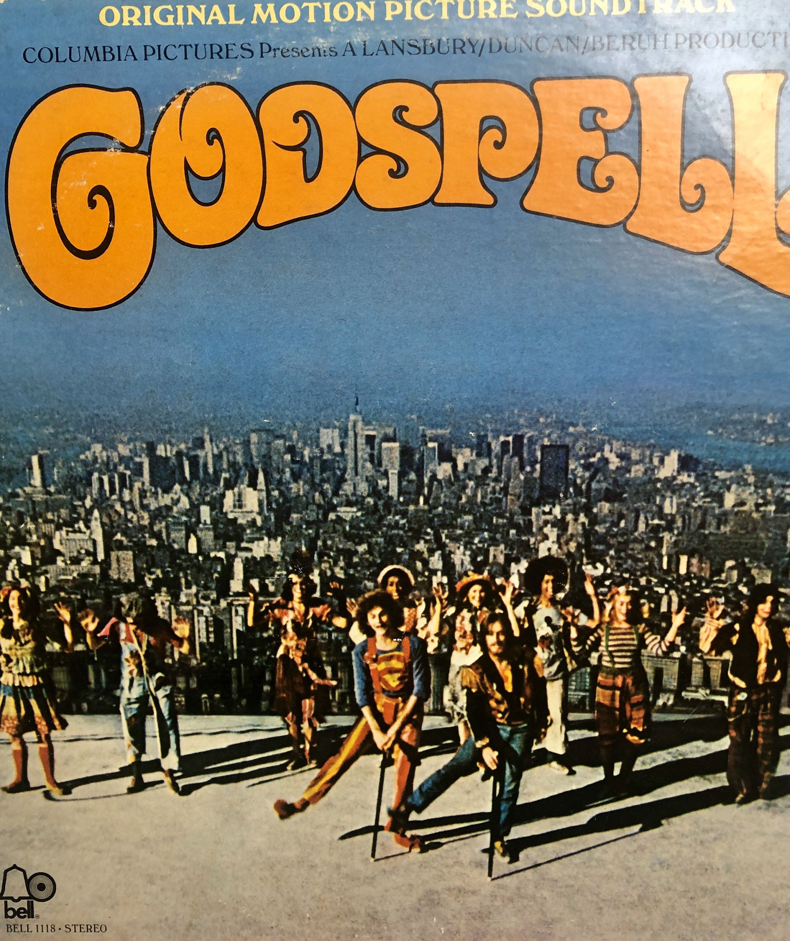 Godspell Vinyl Lp Moviesoundtrack 70 S Music Etsy Soundtrack Musical Movies Motion Picture
