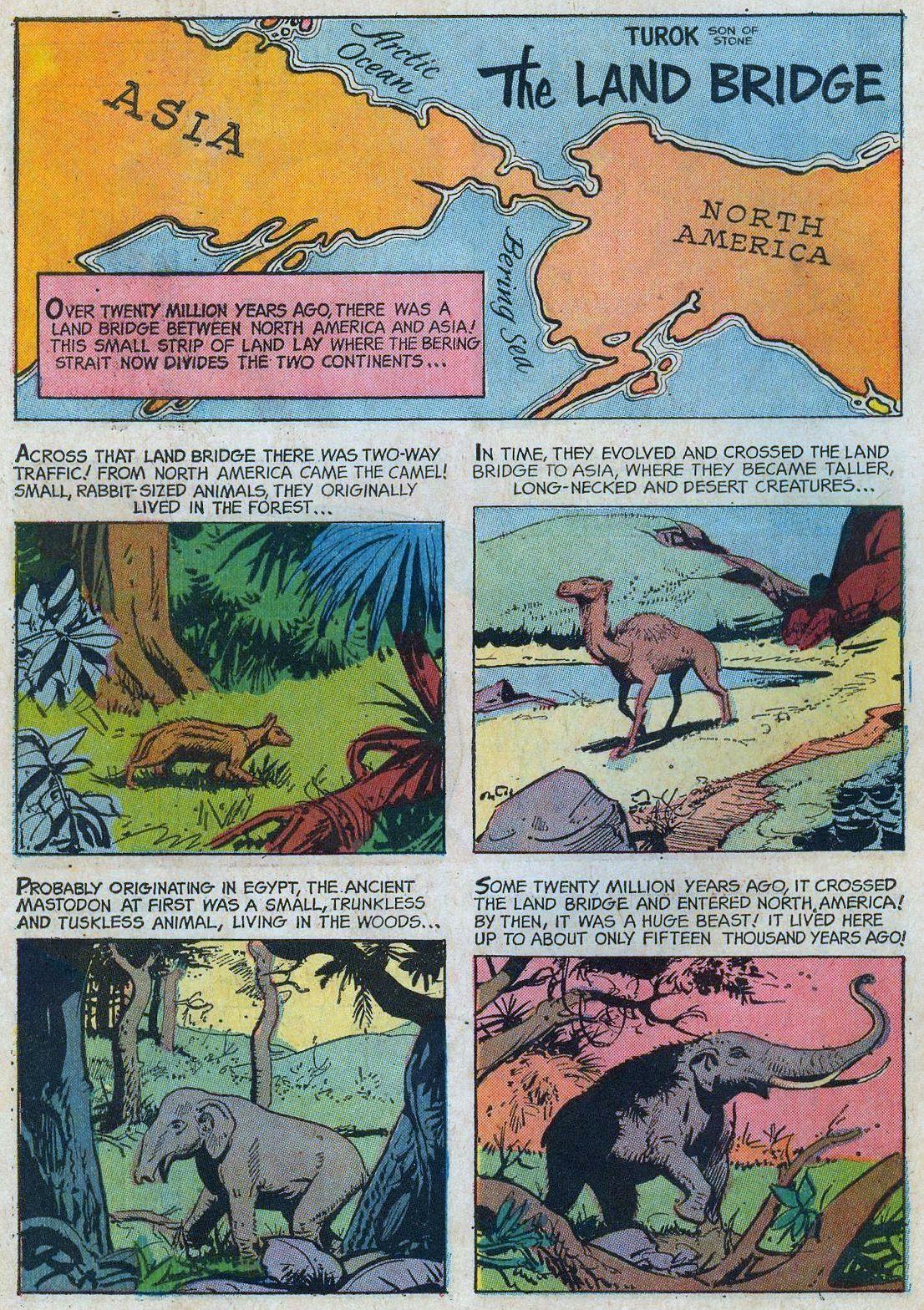 Prehistoric Mammals Of Young Earth The Land Bridge