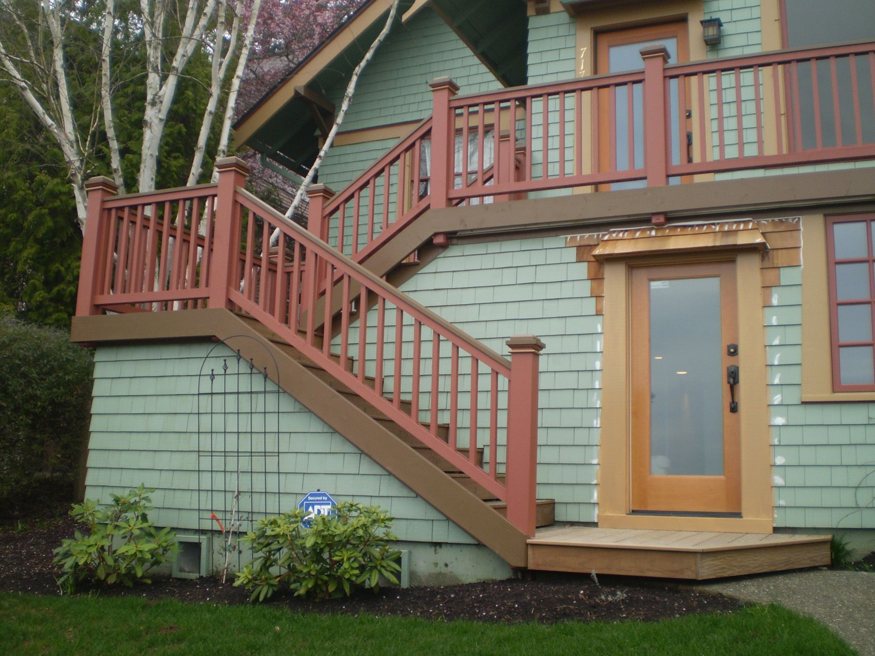 Steps porch stairs stairs paint exterior wood stairs painted exterior - Best 20 Outside Stairs Ideas On Pinterest Stairs House Stairs And Interior Stairs