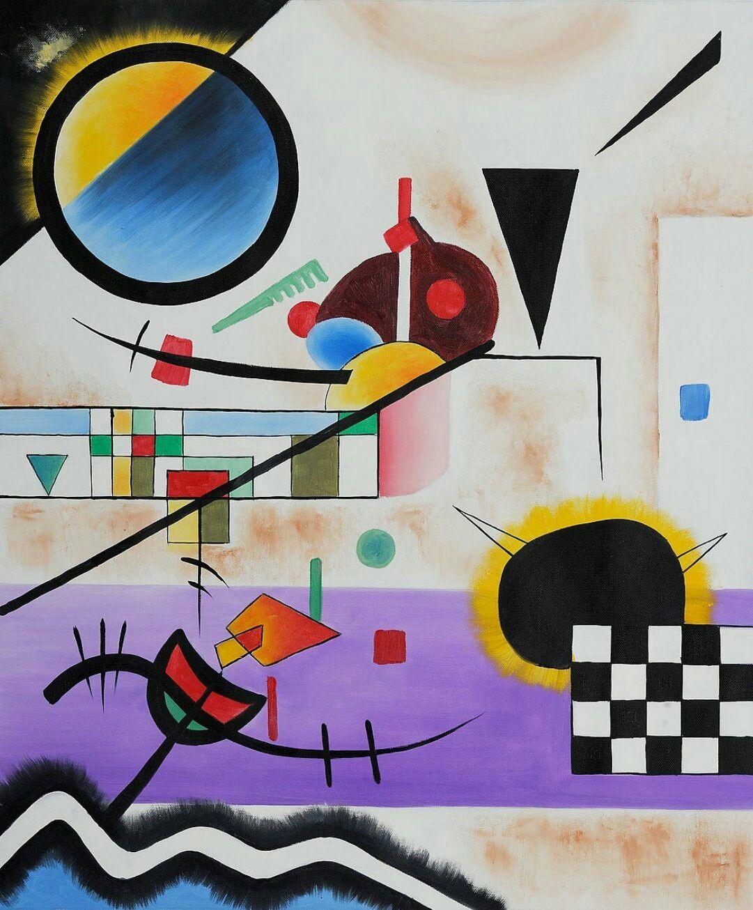 Contrasting Sounds Wassily Kandinsky