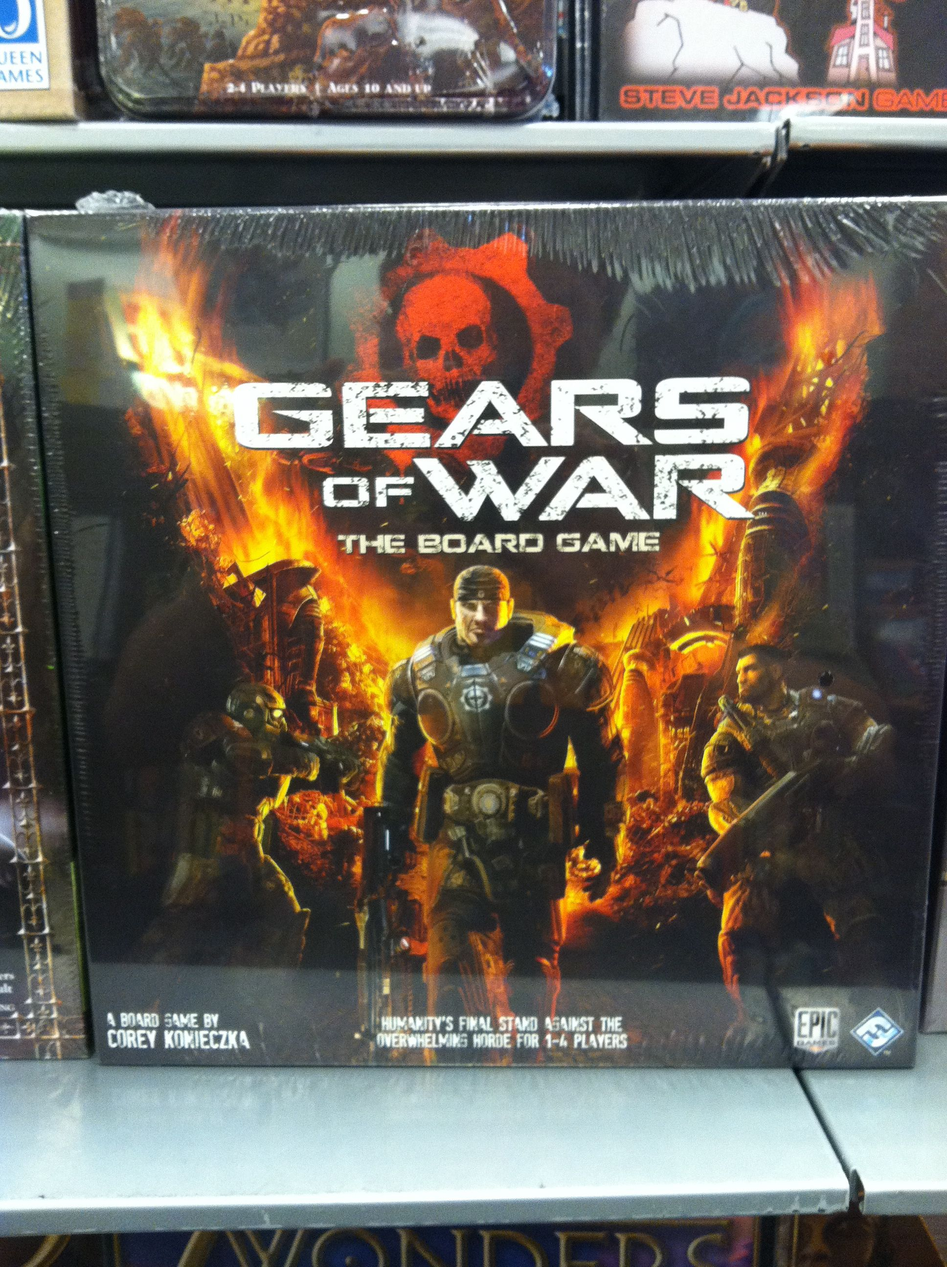 Gears Of War Board Game Funny Game Video Game Funny Games