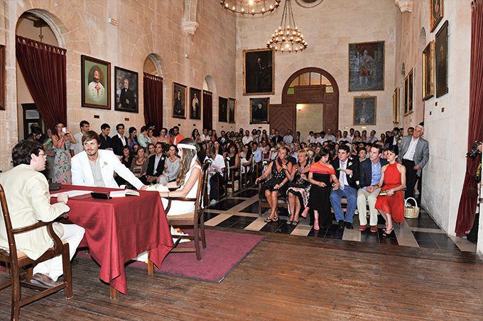 XAVI + DANAE « MissMrs. Ceremonia. Ajuntament de Ciutadella de Menorca.