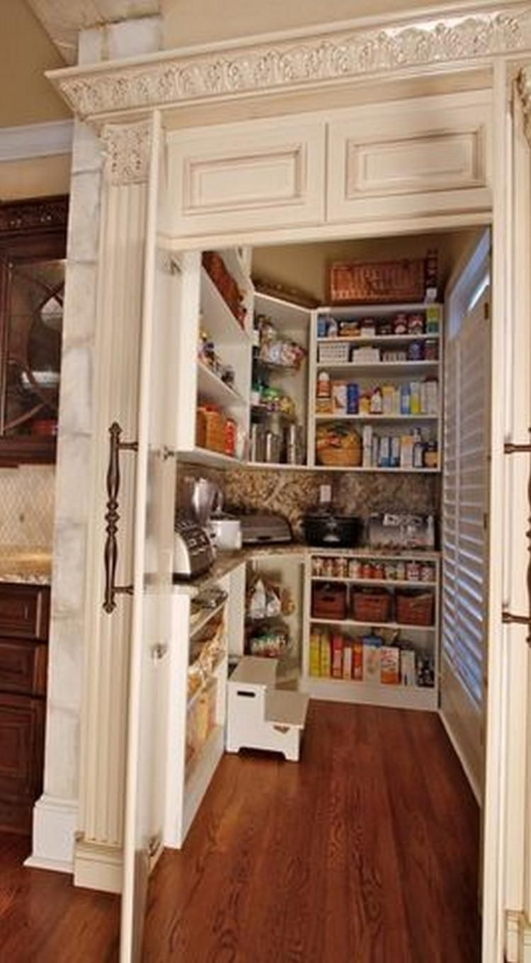 Cool Pantry Ideas For A Small Kitchen House Dream House House Design