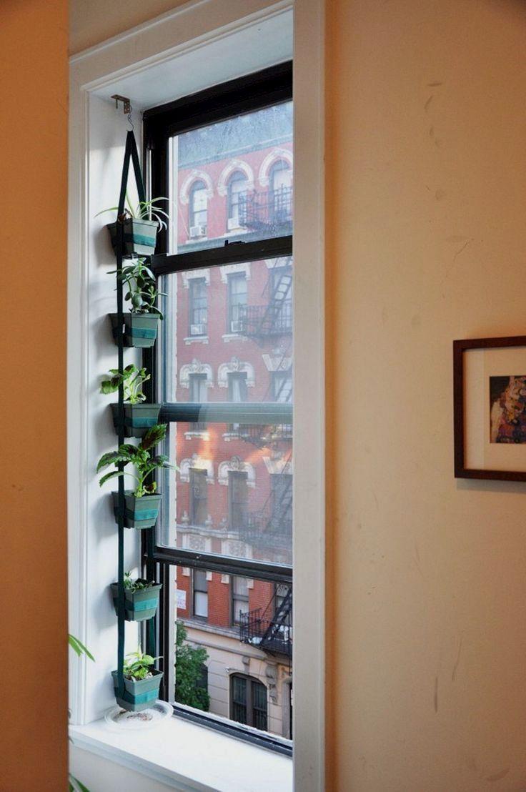 Pin On Indoors: Vertical Garden Indoor, Apartment Garden, Diy Hanging Planter