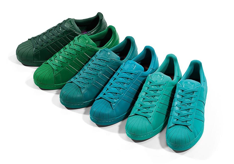 separation shoes 46189 e82b1 50 Colors of the Pharrell x adidas
