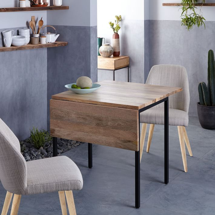 Box Frame Drop Leaf Expandable Table Expandable Dining Table