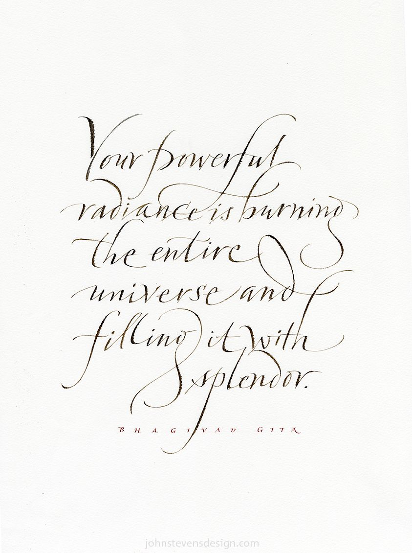 Page not found – John Stevens Calligraphy