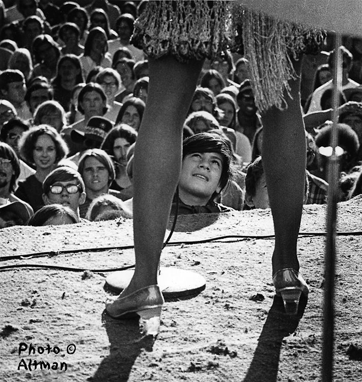"The Gold Rush Festival, October 4, 1969 – Tina Turner, ""The Fan"""