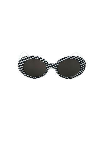 Domino Dollhouse - Plus Size Clothing: Glamour Dotty Sunglasses