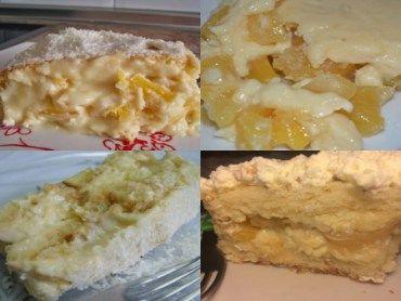 Receita Creme de Abacaxi para recheio de bolo