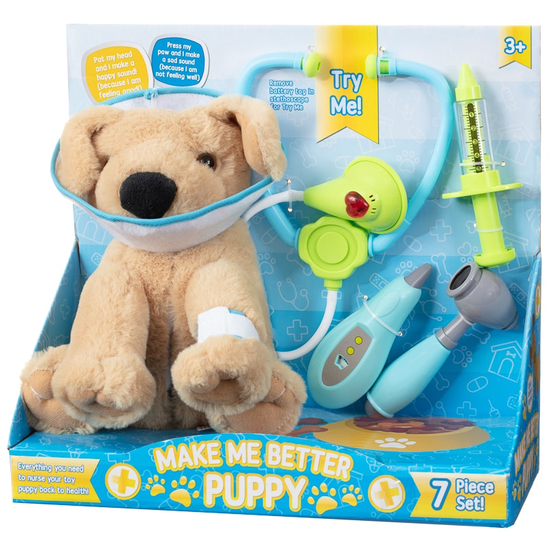 Ideal For Budding Vets This Make Me Better Puppy Toy Is Full Of