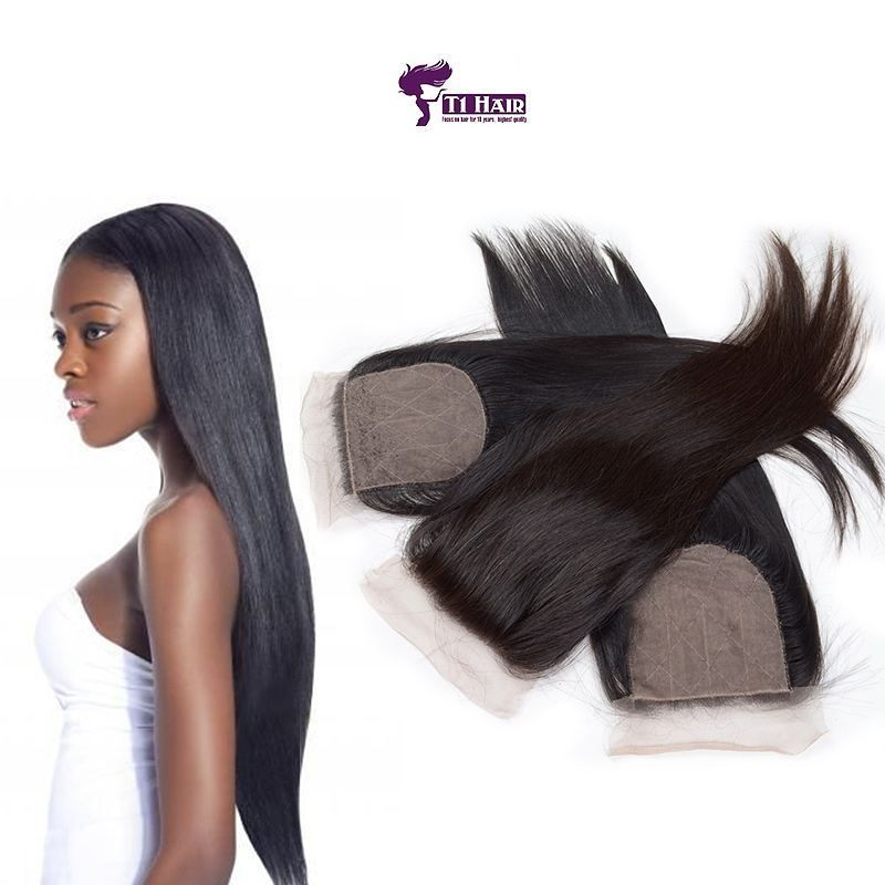 Straight 5a 4x4 3pcs Set Hair Extension Hair Hairextension Wigs