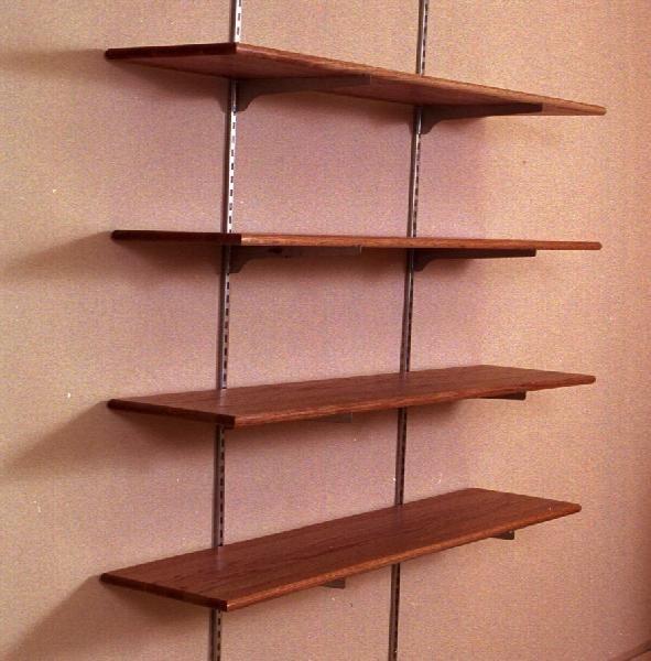 Wall Mounted Shelving Dimensions: 12 X 48 6 Vol Per Footu003d 96 Vol Total