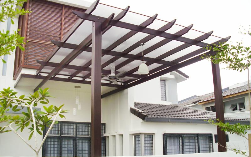 Car porch design polycarbonate google search for Car porch roof design