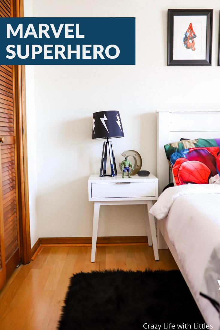 modern superhero bedroom  marvel bedroom comfort