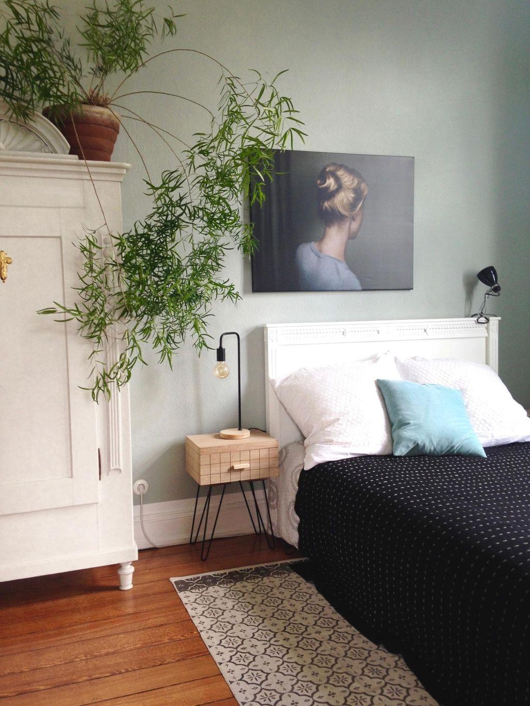 Bedroomview Bedroom Schlafzimmer Asparagus Altbauwohnung