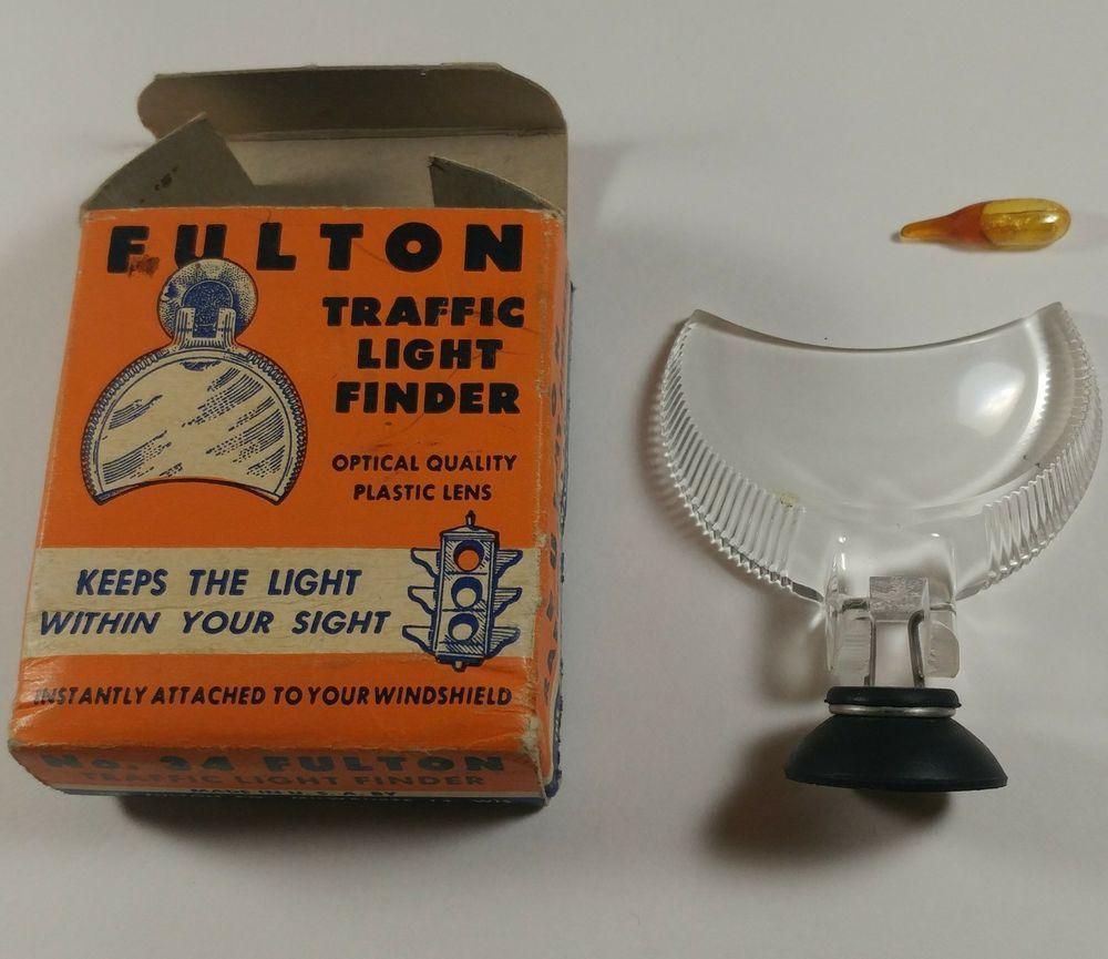 Vintage Fulton Traffic Light Finder w/Original box | eBay | Auto