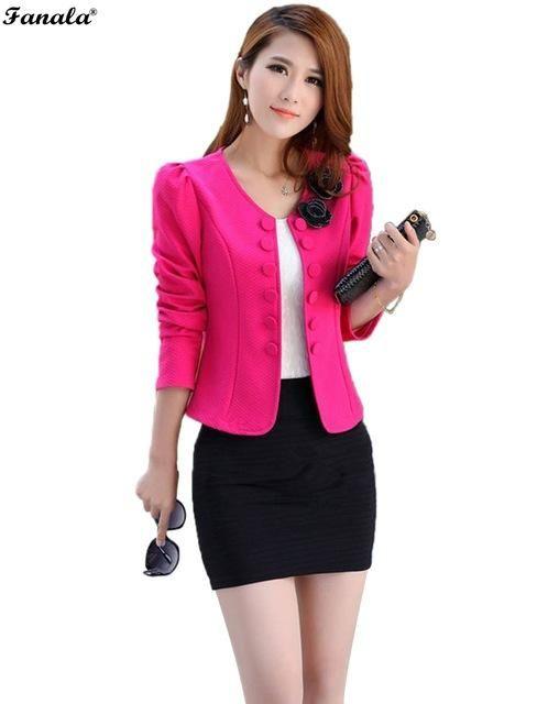73afa2c8042 2017 Women Coat Ladies Autumn Womens Short Jacket Slim Short Design  Turn-down Collar Coat Short Coat Jackets For Women