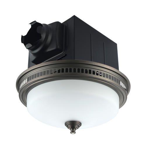 Tuscany 110 Cfm Ceiling Exhaust Bath Fan With Light Fan Light