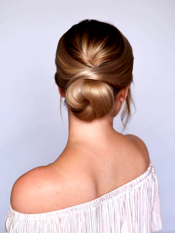 3 Minute Elegant Side Bun Hairstyle Easy Summer Updo Hair Tutorial How To Do Quick Easy Side Bun Hai Bun Hairstyles Easy Hairstyles Easy Bun Hairstyles