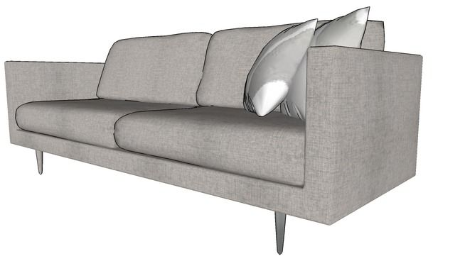 Sofa Sofa Furniture Sketchup Model