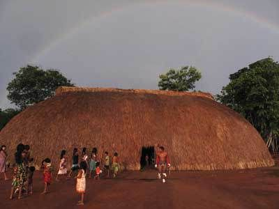 Oca indígena no Brasil