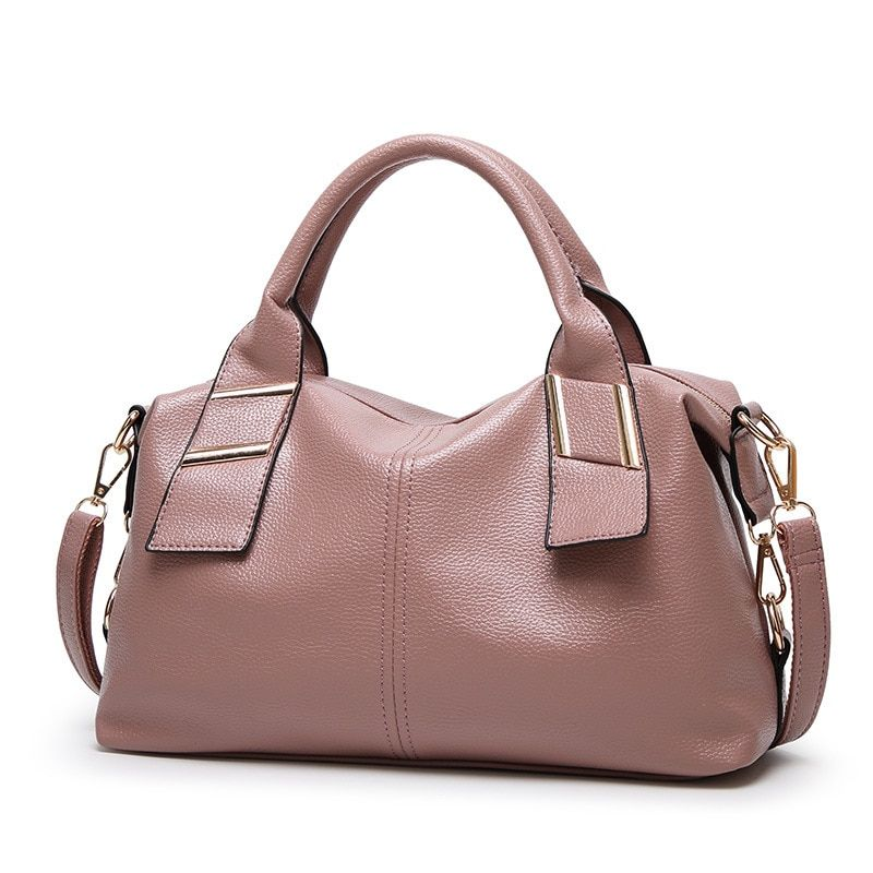2d26610b694f 2019 women fashion best quality handbags shoulder bags casual women new  style pink color bag women