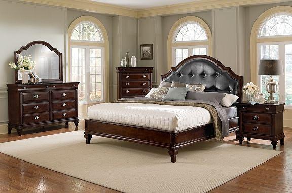 Manhattan Bedroom Collection - Value City Furniture-Queen Bed
