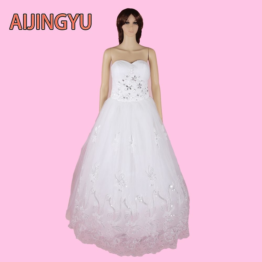AIJINGYU 2017 new free shipping canada wedding dresses color sexy ...
