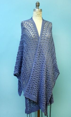 Image of Knit Spring Ruana | Holy Needles projects | Pinterest ...