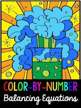 Balancing Equations *COLORBYNUMBER* Activity Balancing