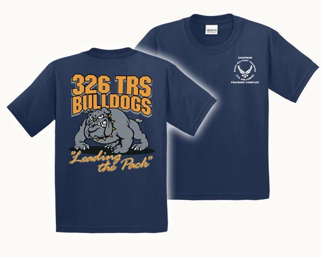9a35034d9b26 Air Force TShirt 326 TRS Navy Bulldog   Nathan's Graduation and ...