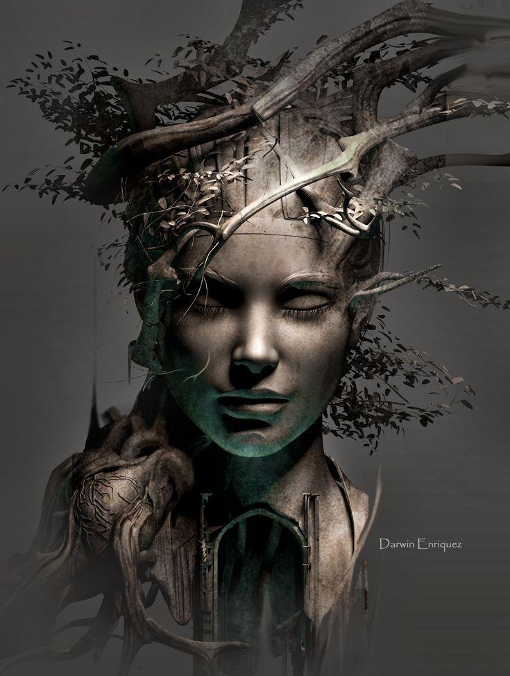 surrealismo, Baum des Lebens - #Baum #des #Lebens #surrealismo #ancestors