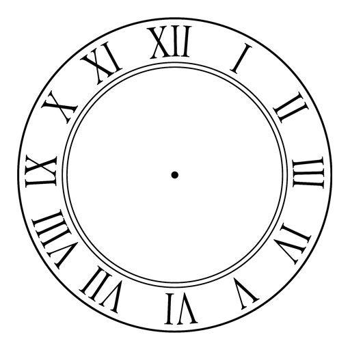 Reloj 5 pa las 12 en numero romano buscar con google - Reloj adhesivo de pared ...