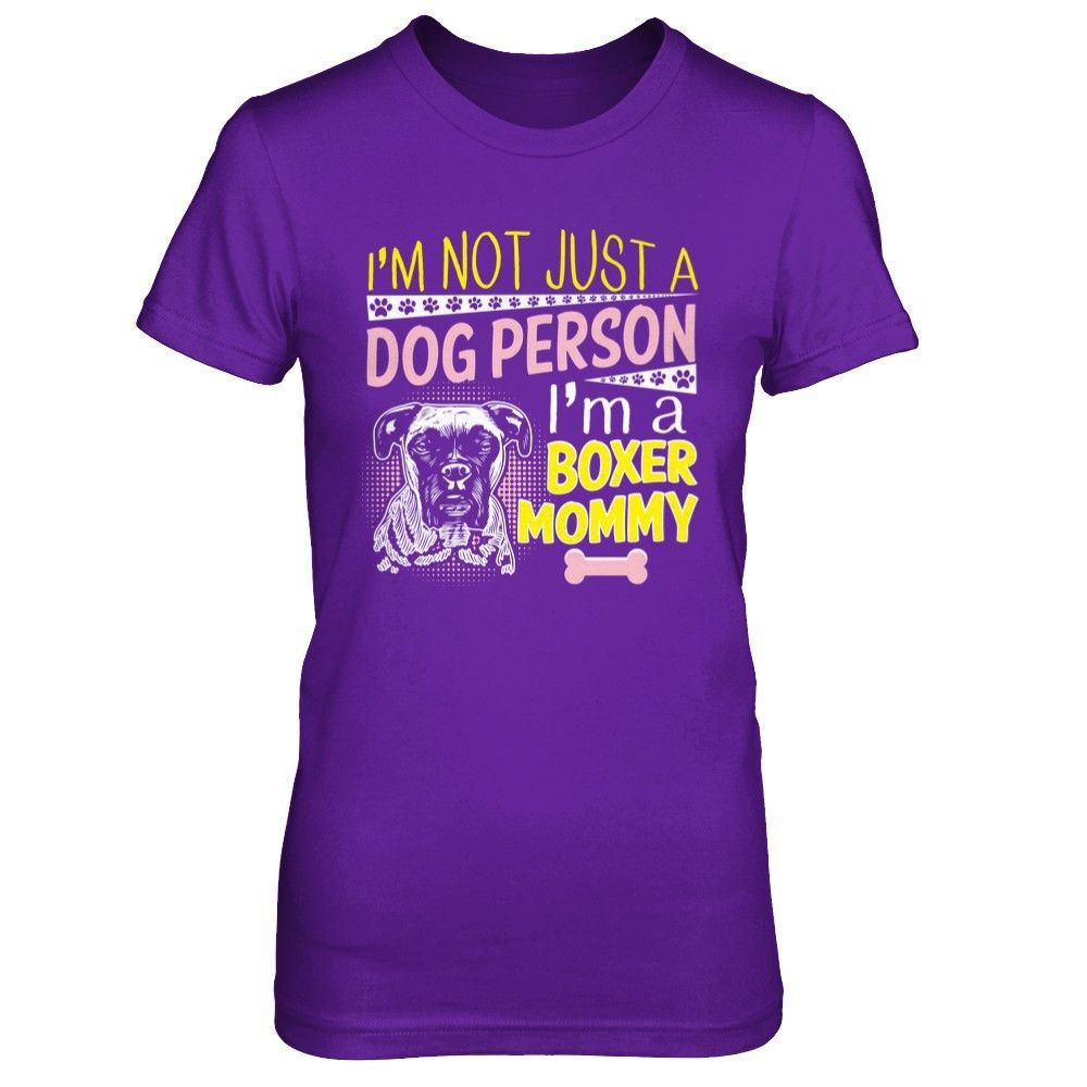 I Am A Boxer Mommy - Shirts