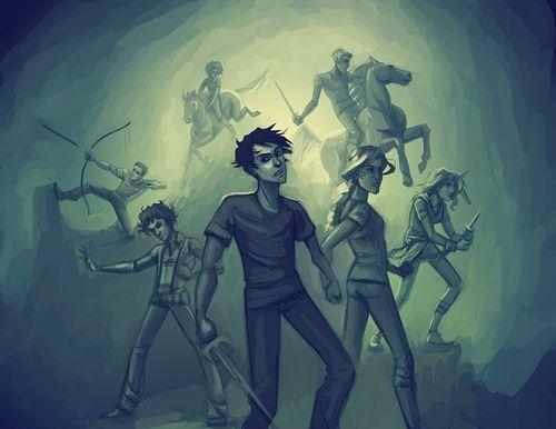 Percy Jackson Heroes Of Olympus Olimpo Semideuses E Herois Do