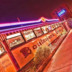 Worcester, MA:: Boulevard Diner; for our future New England road trip