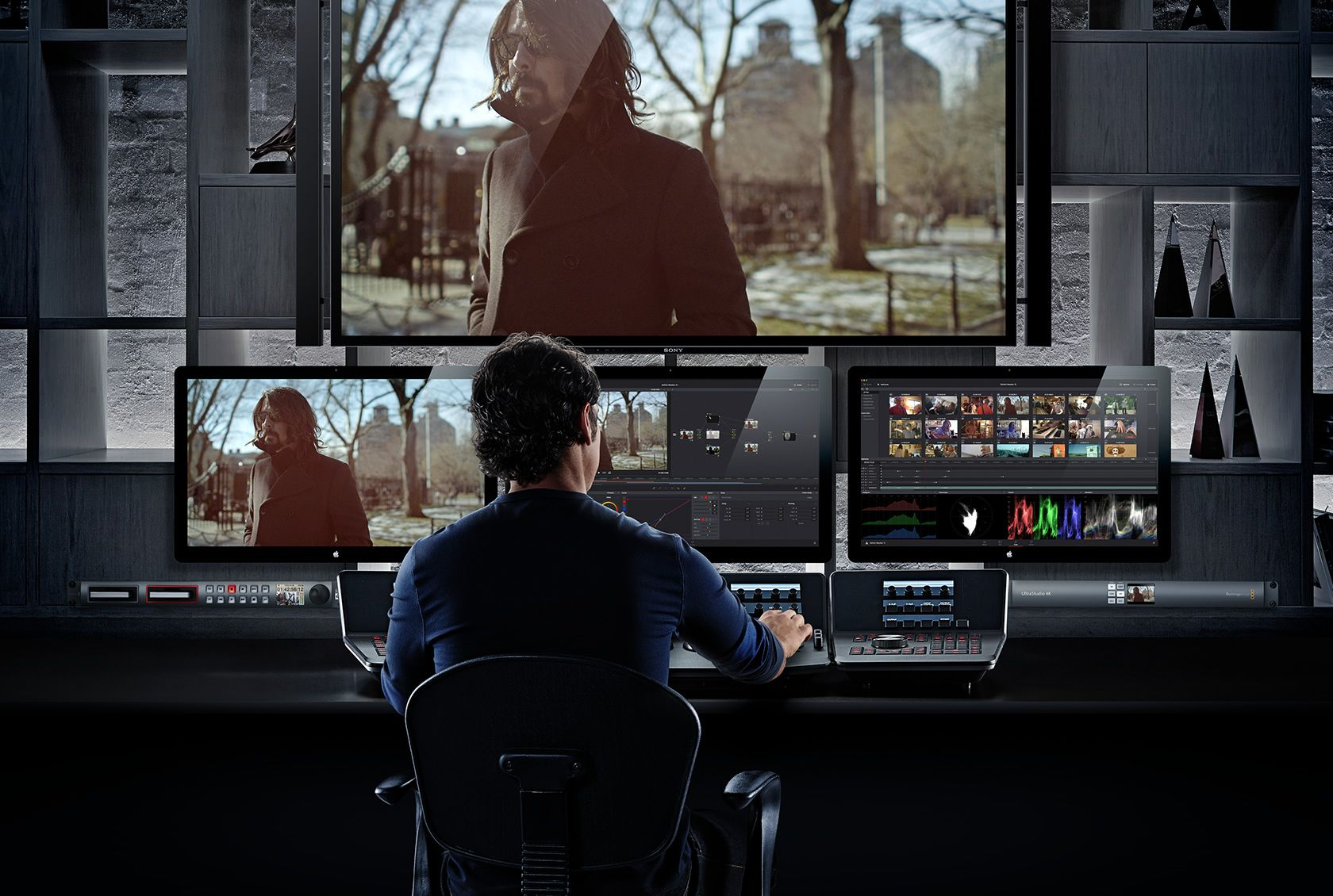 Blackmagic Design Davinci Resolve 12 Control Blackmagic Design Editing Suite Video Editing Studio
