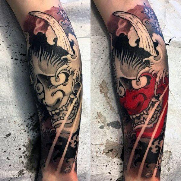 4f40dfdeb 100 Hannya Mask Tattoo Designs For Men - Japanese Ink Ideas | ink ...
