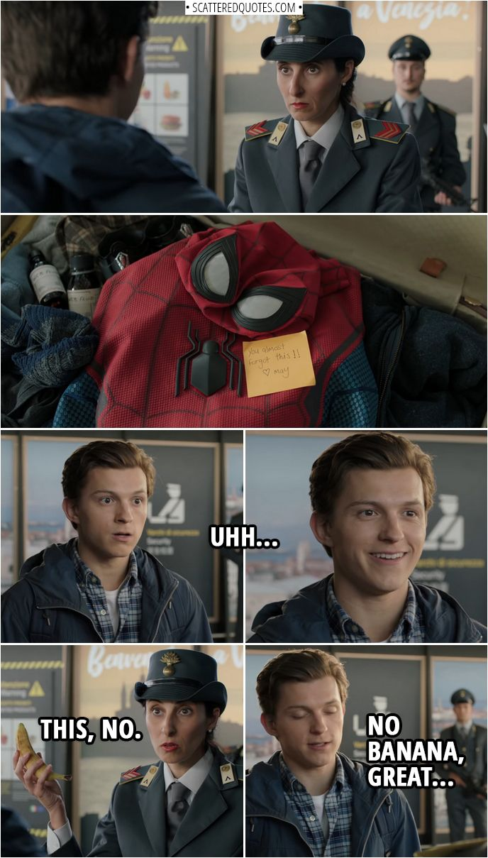 Best 'Spider-Man: Far From Home (2019)' Quotes #men'ssuits