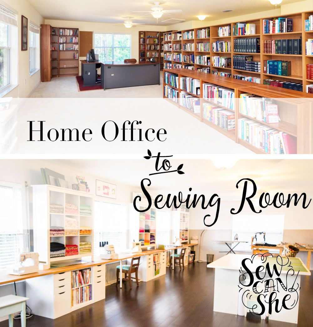 My Sewing Room Makeover Is Done! Well, Done Enough To Show You, At