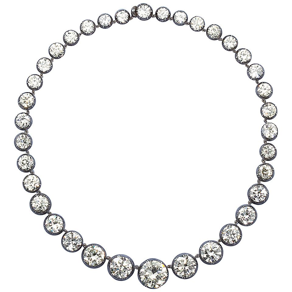 tennis jewelry necklace fashion diamond graduated