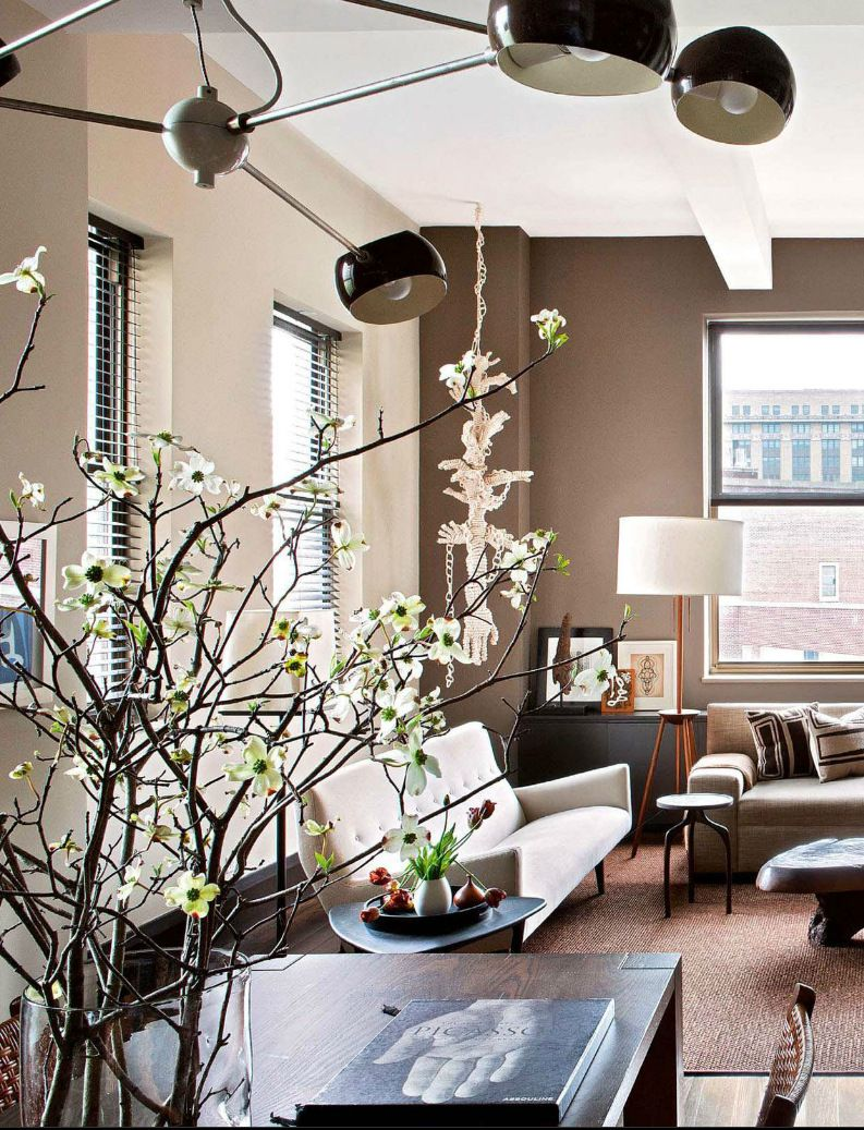 Best Mid Century Modern Living Room In A Warm Neutral Palette 400 x 300