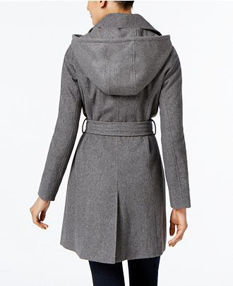 fe42bb47741 MICHAEL Michael Kors Wool-Blend Hooded Coat