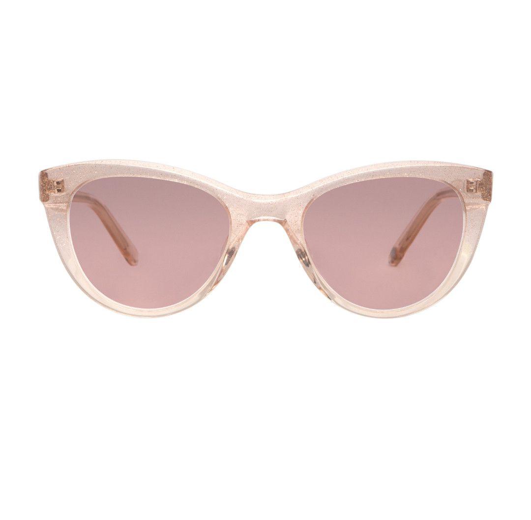 Garrett Leight x Clare V, Sparkle glitter frames $340